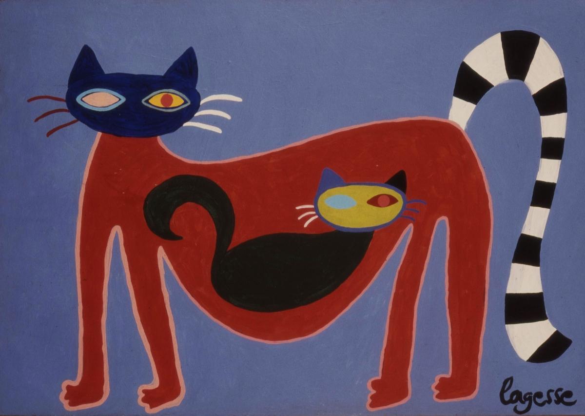 Joanna La Gesse painting